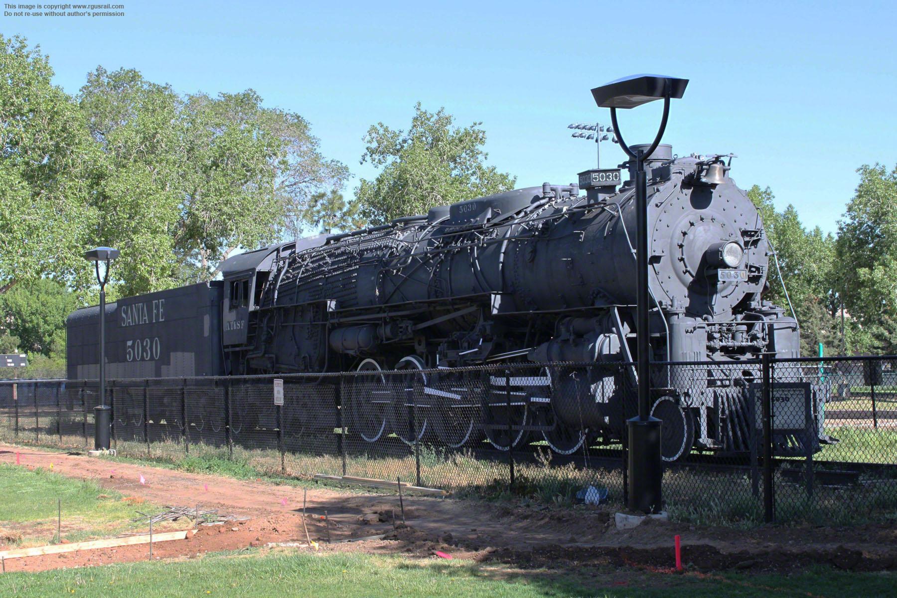 17-08-12 Atchison, Topeka & Santa Fe Railroad 2-10-4 5030 … | Flickr