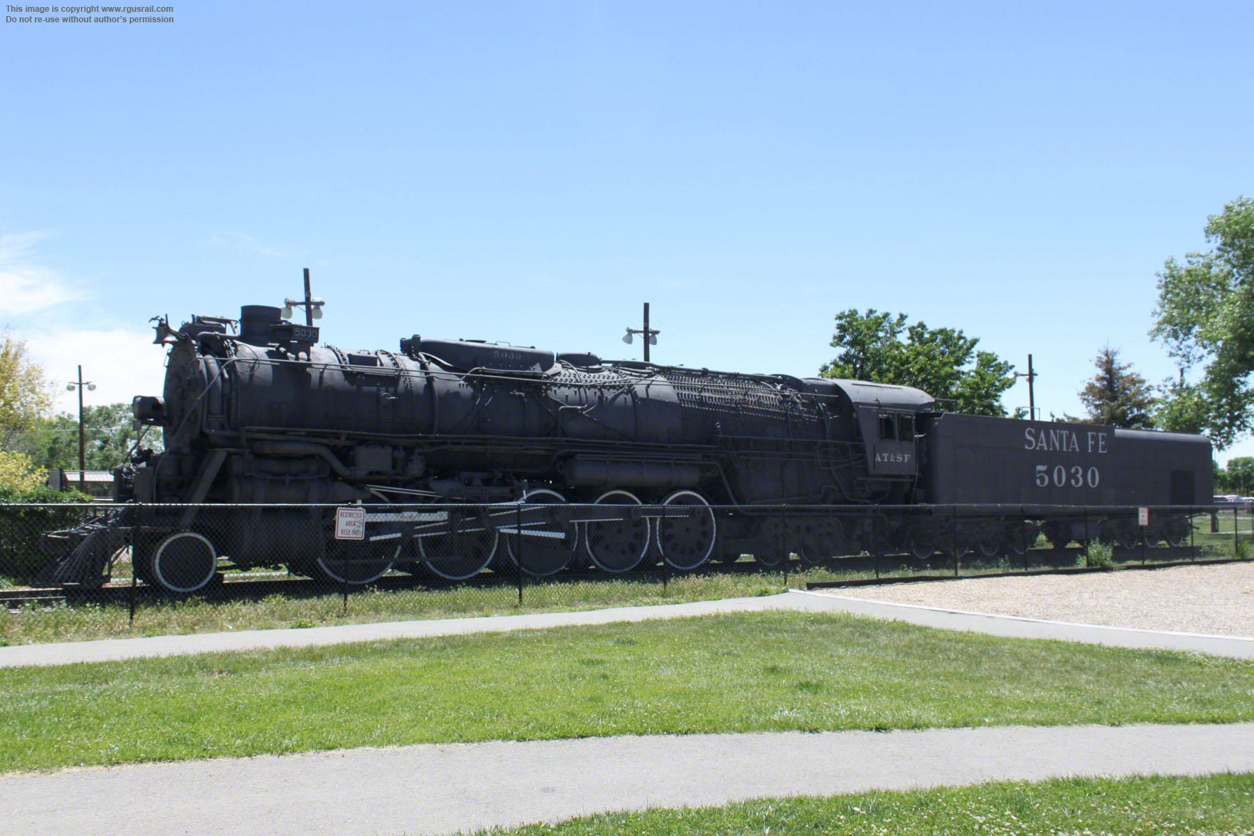 "Santa Fe 2-10-4 ""Texas"" Locomotives of the USA"