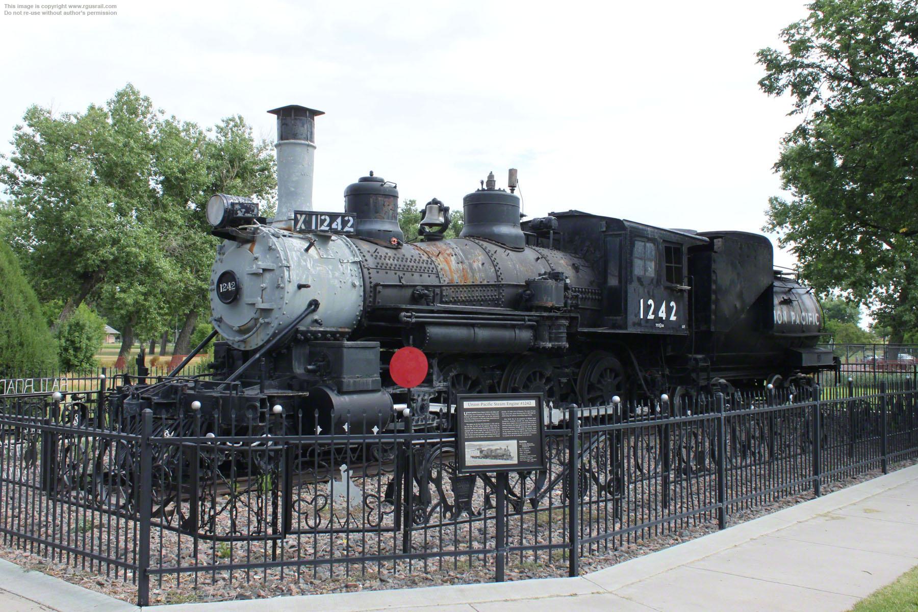 UP T-57 #1242, Cheyenne Botanic Gardens