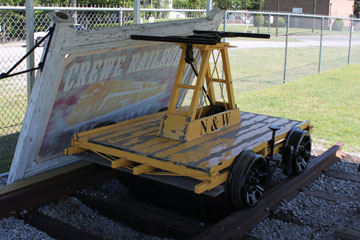 MOW Vehicle, Crewe Railroad Museum