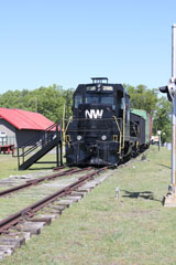 NW GP7U #2185, Crewe Railroad Museum