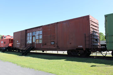 NW Box Car #600651, Crewe Railroad Museum